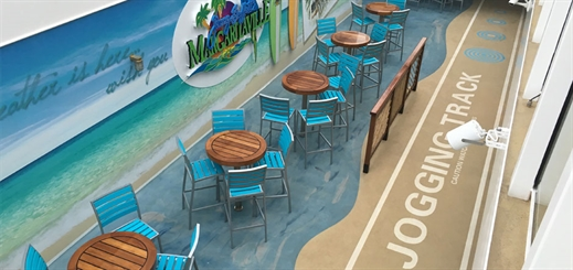 Bolidt flooring improves the cruise experience
