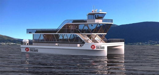 Hurtigruten introduces electric catamarans for Arctic travel