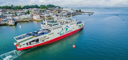 Red Funnel reduces plastics, waste and energy consumption