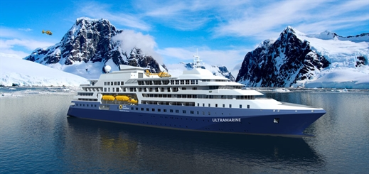 Quark Expeditions to name polar expedition ship Ultramarine