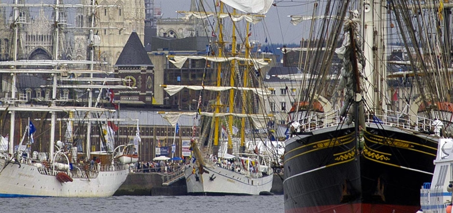 Total of 27 cruise ships to attend Rouen Armada this June