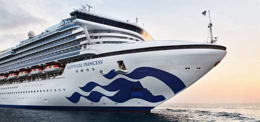 Princess Cruises to extend Sapphire Princess's Asia 2020 season