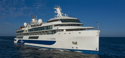 Celebrity Cruises christens new Celebrity Flora