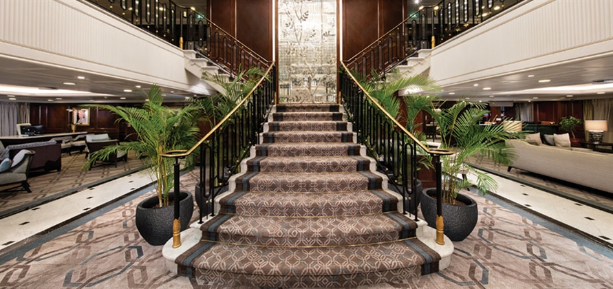 Ulster Carpets is creating bespoke luxury with cruise ship carpets