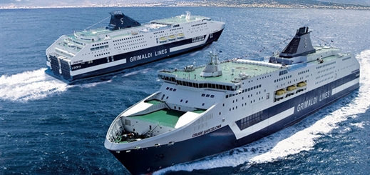 Two Grimaldi Group ferries to operate emission-free in ports