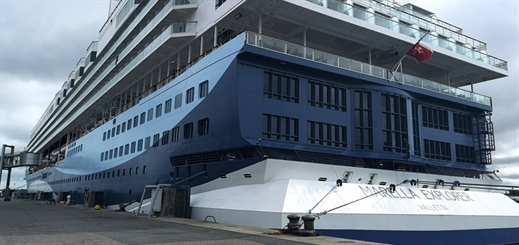 Marella Explorer makes maiden visit to Port of Kiel
