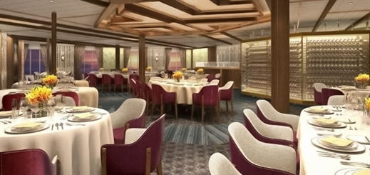 Seabourn unveils dining experiences for new expedition ships