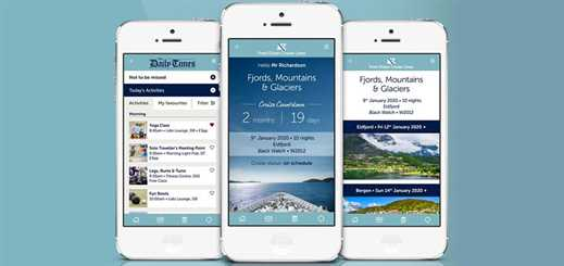 Fred. Olsen Cruise Lines launches onboard app with SimpleClick