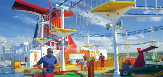 Sailing away with SkyTrail onboard Carnival Panorama