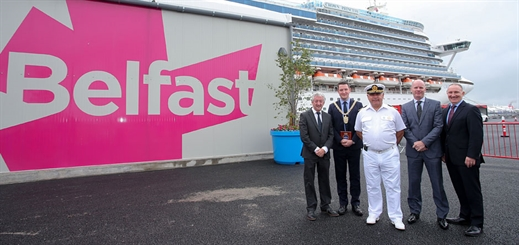 Belfast opens first-ever dedicated cruise berth