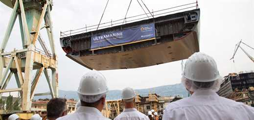 Brodosplit lays keel for Quark Expeditions' Ultramarine