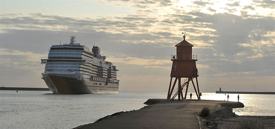 Port of Tyne hosts largest cruise ship to date