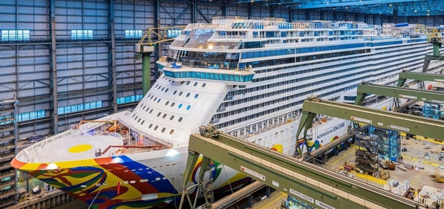 Meyer Werft to float out Norwegian Cruise Line's Norwegian Encore