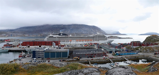 MSC Cruises makes first-ever cruise calls in Greenland