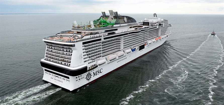 MSC Grandiosa successfully passes sea trials