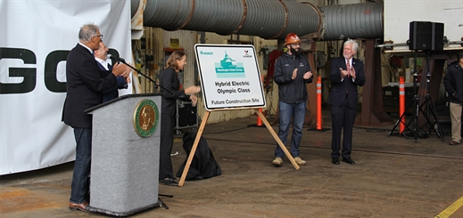 Washington State Ferries starts green ferry project