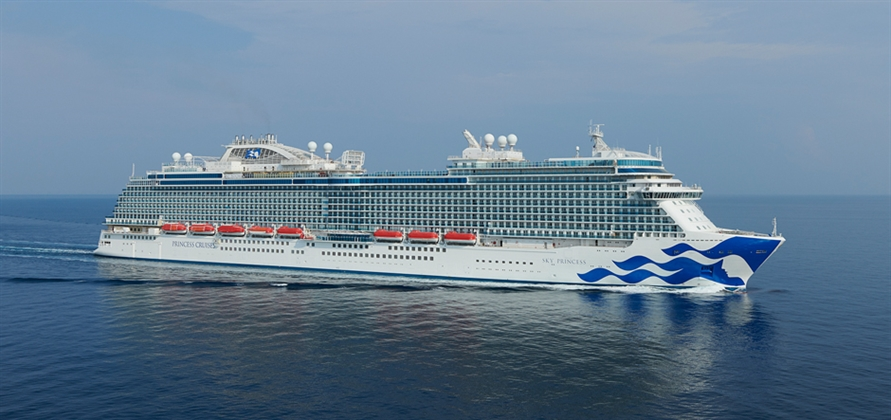 Princess Cruises completes sea trials of newest ship