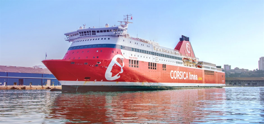 Corsica Linea uses ABB technology for emission-free port stays in Marseille