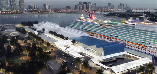 Carnival to expand terminal in Miami to accomodate LNG newbuild
