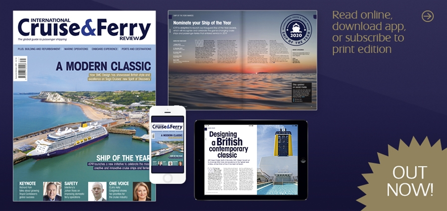 New issue of International Cruise & Ferry Review out now!