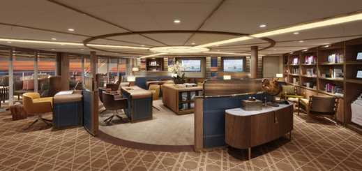 Seabourn Square to be social hub on new luxury expedition ships