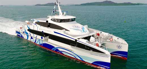 Majestic Ferries debuts new passenger ferry