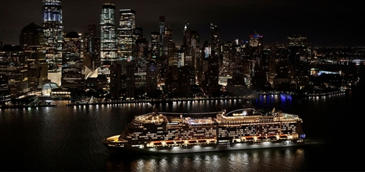 MSC Meraviglia becomes largest ship to dock in New York, US
