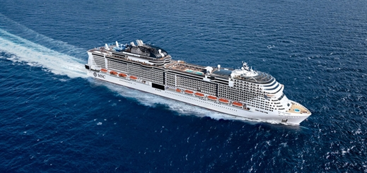 Four nights of celebration planned for MSC Grandiosa christening