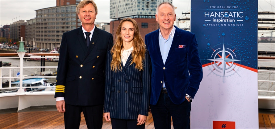 Hapag-Lloyd Cruises christens Hanseatic inspiration