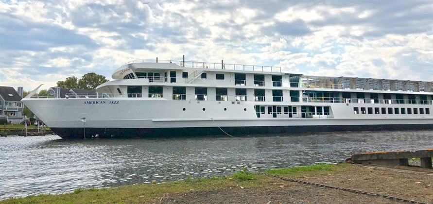 Chesapeake Shipbuilding floats out American Jazz five weeks early