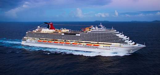 Carnival Cruise Line to homeport four ships in Galveston