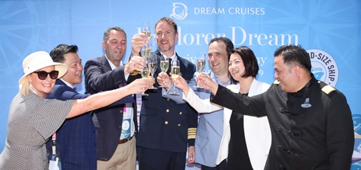 Dream Cruises makes first call in Australia
