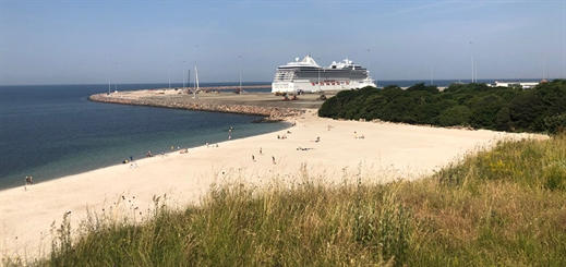 Cruise numbers to rise at Port of Roenne in 2020