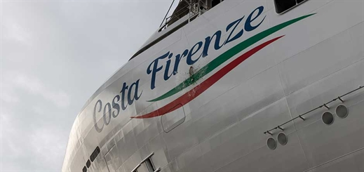 Costa Cruises floats out new Costa Firenze in Italy