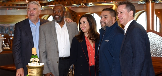 Carnival Cruise Line and Tampa Bay celebrate 25 years of voyages