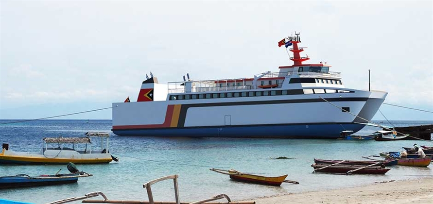 Damen to deliver new ro-pax ferry for Timor-Leste