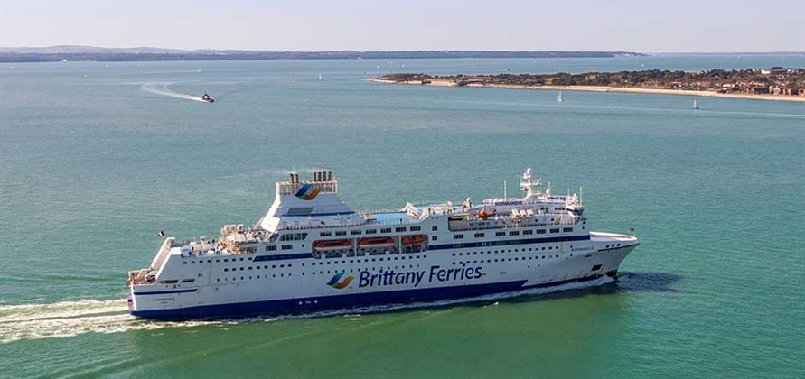 Brittany Ferries eliminates 5.7 million plastic items