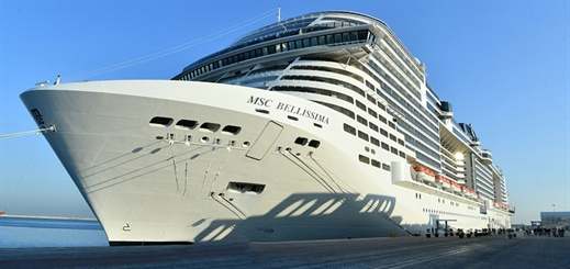 MSC Cruises agrees preferential berthing rights with DP World