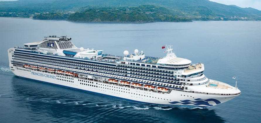 Princess Cruises to increase deployment in Europe and Japan
