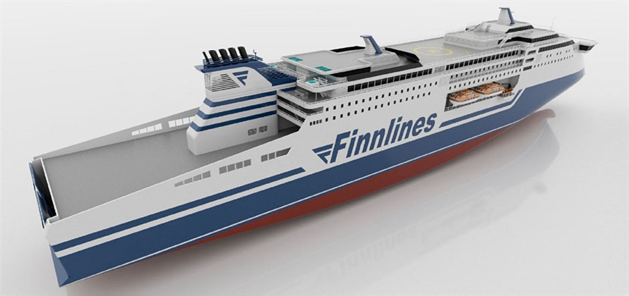 Finnlines orders two eco-friendly Superstar ro-pax ferries