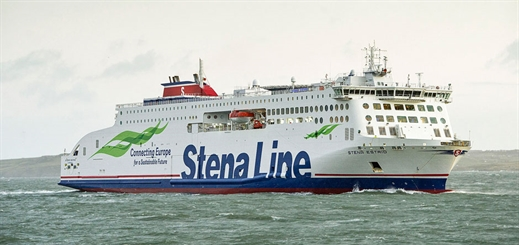 Stena Estrid enters service on Holyhead to Dublin route