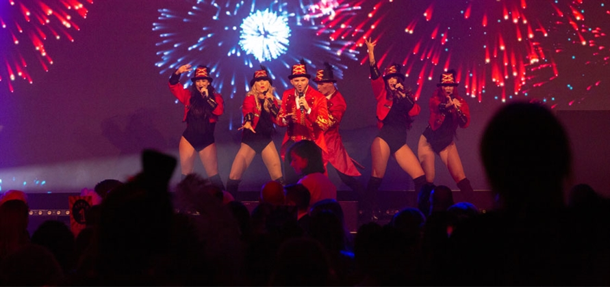 Fred. Olsen Cruise Lines appoints Pop Up Entertainment