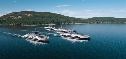 Schottel to provide propulsion units for BC Ferries' Island Class vessels