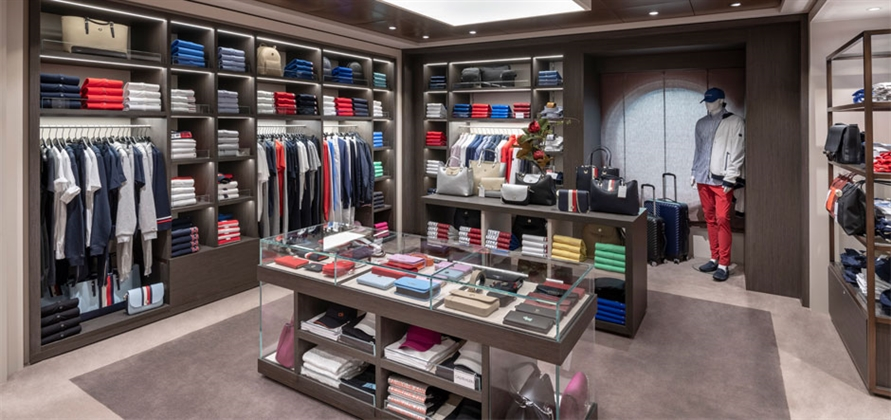Tracking the evolution of onboard retail on cruise ships