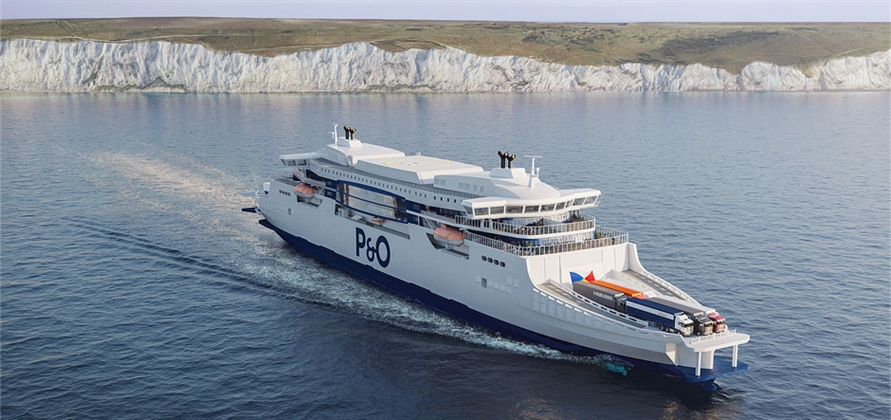 P&O Ferries reveals renders of new super ferries