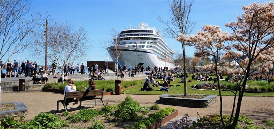 Record number of cruise guests visit the Baltic Sea