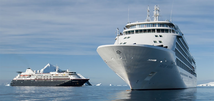 Silver Whisper becomes first ship to visit Antarctica on a world cruise