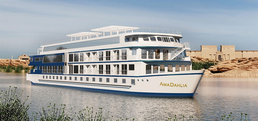 AmaWaterways to build new river cruise ship