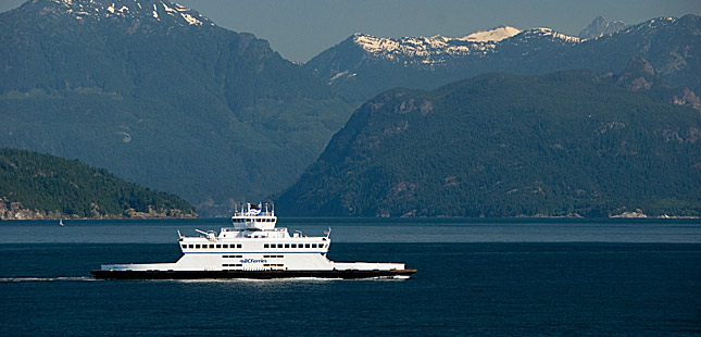 Refit for BC Ferries ship
