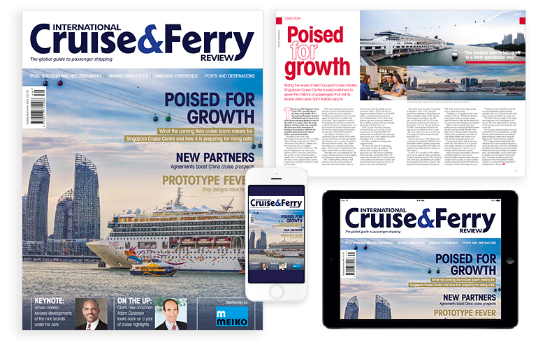International Cruise and Ferry Review Spring 2015